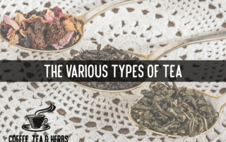 The Various Types of Tea
