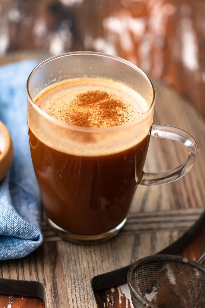 Keto Vanilla Cinnamon Coffee