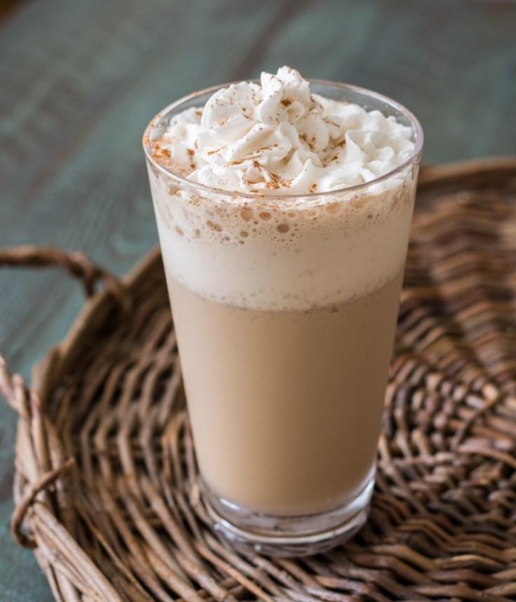 Keto Vanilla Latte Frappuccino