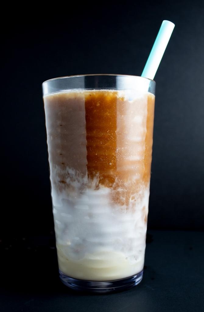 Layered Keto Coffee